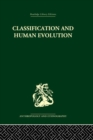 Classification and Human Evolution - eBook