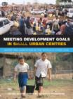 Meeting Development Goals in Small Urban Centres : Water and Sanitation in the Worlds Cities 2006 - eBook