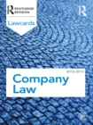 Company Lawcards 2012-2013 - eBook