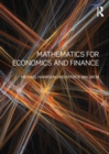 Mathematics for Economics and Finance - eBook