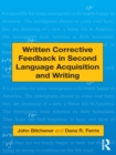 Written Corrective Feedback in Second Language Acquisition and Writing - eBook