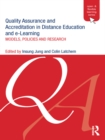 Quality Assurance and Accreditation in Distance Education and e-Learning : Models, Policies and Research - eBook