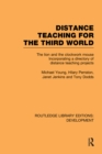 Distance Teaching for the Third World : The Lion and the Clockwork Mouse - eBook