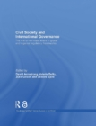 Civil Society and International Governance (Open Access) : The role of non-state actors in global and regional regulatory frameworks - eBook