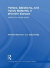 Parties, Elections, and Policy Reforms in Western Europe : Voting for Social Pacts - eBook