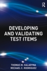 Developing and Validating Test Items - eBook