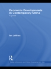 Economic Developments in Contemporary China : A Guide - eBook