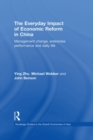 The Everyday Impact of Economic Reform in China : Management Change, Enterprise Performance and Daily Life - eBook