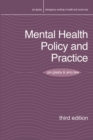 Mental Health Policy and Practice - Book