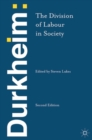Durkheim: The Division of Labour in Society - Book