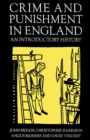 Crime and Punishment in England, 1100-1990 : An Introductory History - eBook