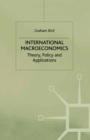 International Macroeconomics : Theory, Policy And Applications - eBook