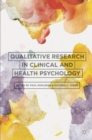Qualitative Research in Clinical and Health Psychology - eBook