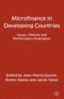 Microfinance in Developing Countries : Issues, Policies and Performance Evaluation - eBook