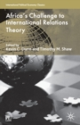 Africa's Challenge to International Relations Theory - Book