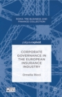 Corporate Governance in the European Insurance Industry - eBook
