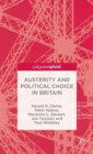 Austerity and Political Choice in Britain - Book