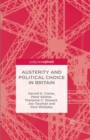 Austerity and Political Choice in Britain - eBook