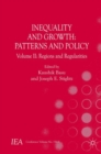 Inequality and Growth: Patterns and Policy : Volume II: Regions and Regularities - Book