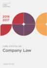 Core Statutes on Company Law 2016-17 - eBook
