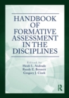 Handbook of Formative Assessment in the Disciplines - Book