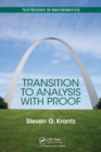 Transition to Analysis with Proof - Book