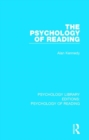 The Psychology of Reading - Book