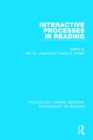 Interactive Processes in Reading - Book