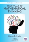 Essentials of Mathematical Thinking - eBook