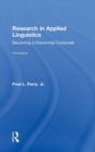 Research in Applied Linguistics : Becoming a Discerning Consumer - Book
