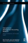 Interventionist Management Accounting Research : Theory Contributions with Societal Impact - Book