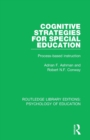 Cognitive Strategies for Special Education : Process-Based Instruction - Book