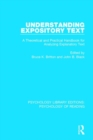 Understanding Expository Text : A Theoretical and Practical Handbook for Analyzing Explanatory Text - Book