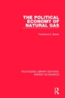 The Political Economy of Natural Gas - Book