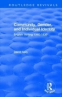 : Community, Gender, and Individual Identity (1988) : English Writing 1360-1430 - Book