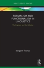 Formalism and Functionalism in Linguistics : The Engineer and the Collector - Book