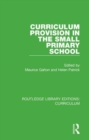 Curriculum Provision in the Small Primary School - Book