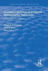 Investment Decisions in Advanced Manufacturing Technology : A Fuzzy Set Theory Approach - Book