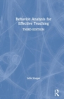 Behavior Analysis for Effective Teaching - Book