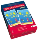 Spot What's Missing? Language Cards - Book