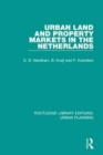 Urban Land and Property Markets in The Netherlands - Book