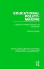 Educational Policy-making : A Study of Interest Groups and Parliament - Book