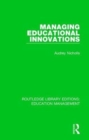 Managing Educational Innovations - Book