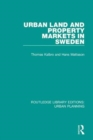 Urban Land and Property Markets in Sweden - Book