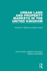 Urban Land and Property Markets in the United Kingdom - Book