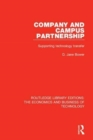 Company and Campus Partnership : Supporting Technology Transfer - Book