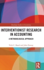 Interventionist Research in Accounting : A Methodological Approach - Book