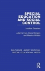 Special Education and Social Control : Invisible Disasters - Book