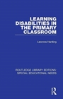 Learning Disabilities in the Primary Classroom - Book