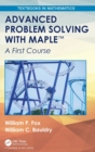 Advanced Problem Solving with Maple : A First Course - Book